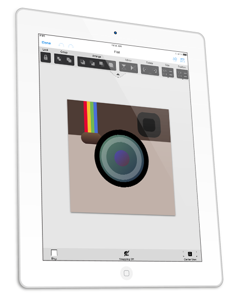 App Icon Graphic Editor