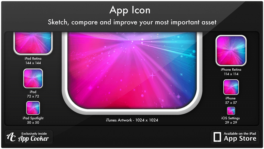 App Icon Sketch Compare Improve1 Polish iOS Icons