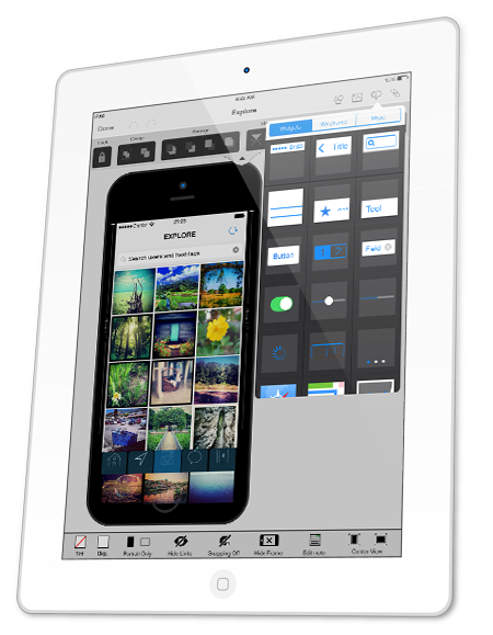 Mockup Editor iOS7 UI Elements