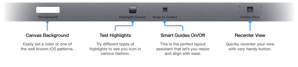 Property Bar Icon Graphic Editor Polish iOS Icons