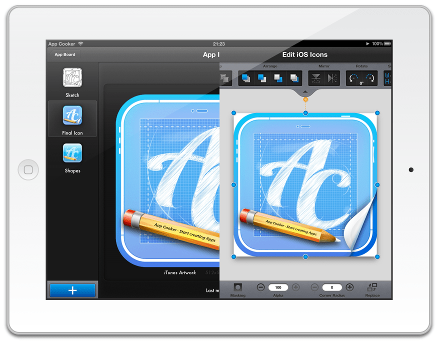 Sketch and compare iOS App Icon Polish iOS Icons